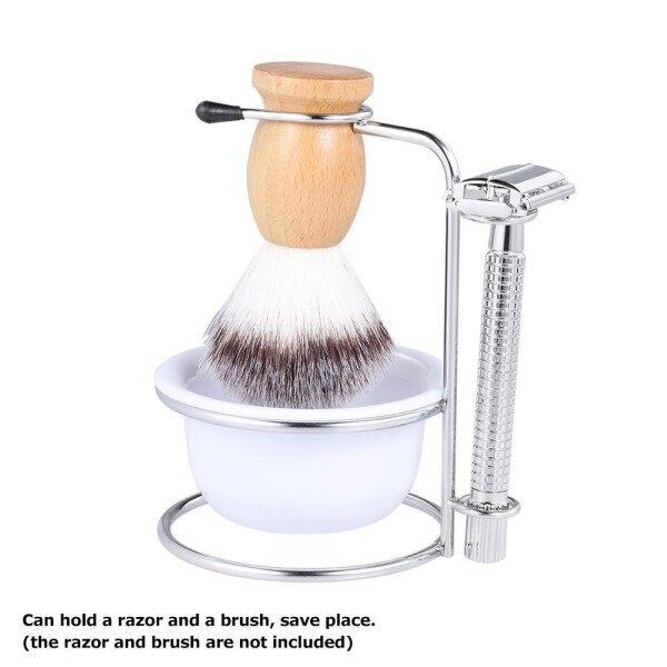 2 in 1 Mens Shaving Kit Shaving Brush Holder + Soap Bowl Male Beard Shaving Soap Bowl Shaving Stand Male Shaving Tool Set giá rẻ