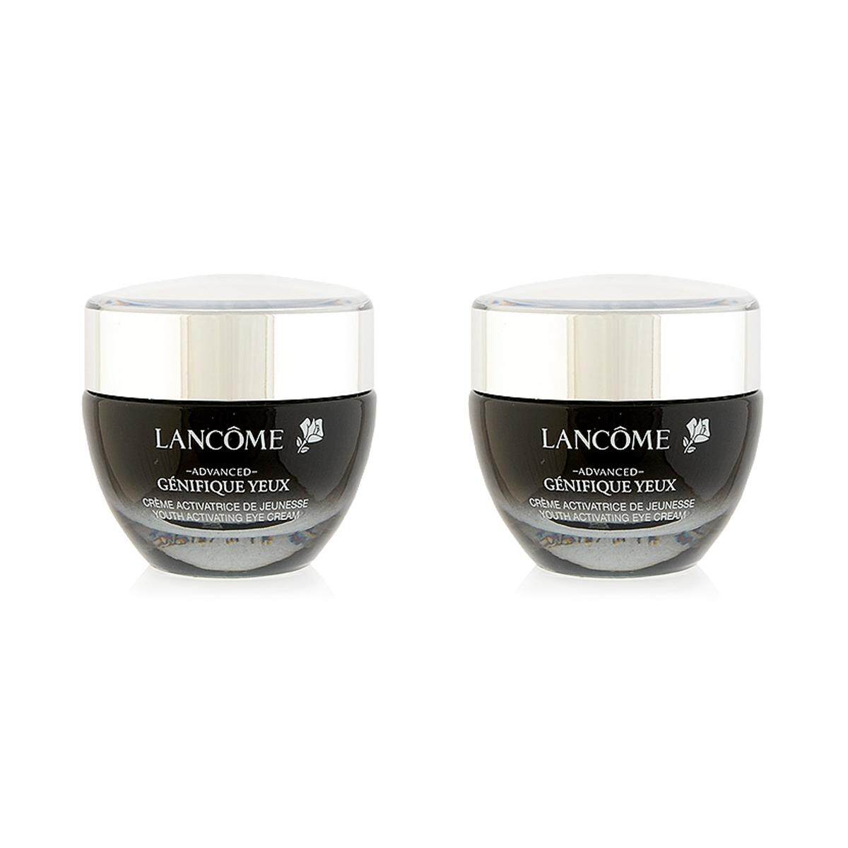 2 X LancÔme Advanced Genifique Yeux Youth Activating Eye Cream 0.5oz, 15ml.