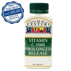 21st Century Vitamin C 1000mg Prolonged Release 120's By Alpro Pharmacy.