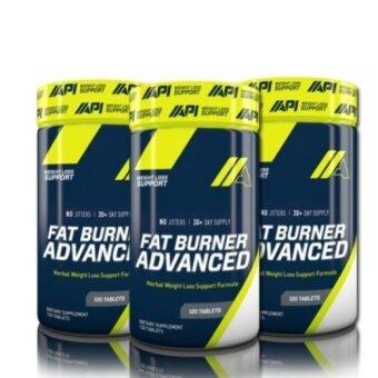 3 UNIT API Fat Burner Advanced - 120 Caps
