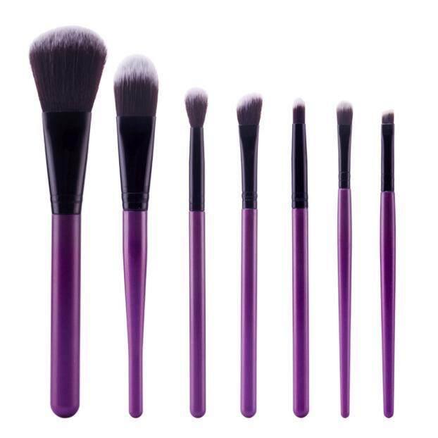 7Pcs Cosmetic Brush Makeup Brush Sets Kits Tools BK - intl Philippines