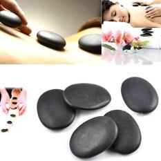Sky Wing 7pcs/set Stone Massage Useful Basalt Rocks 3*4cm Size Black By Sky Wing.