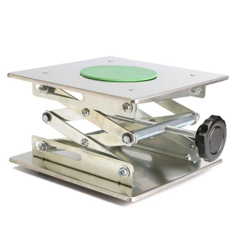 8 Adjustable Lift laboratory Jiffy Jack Stainless Steel Lab Platform 200x200mm nhập khẩu
