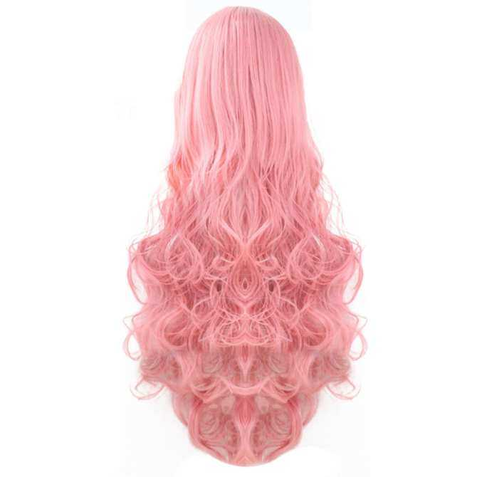 ... 80cm 32inch Length Fashion Colorful Cosplay Long Curly Hair Extensions Wig for Masquerade Party Halloween Christmas ...
