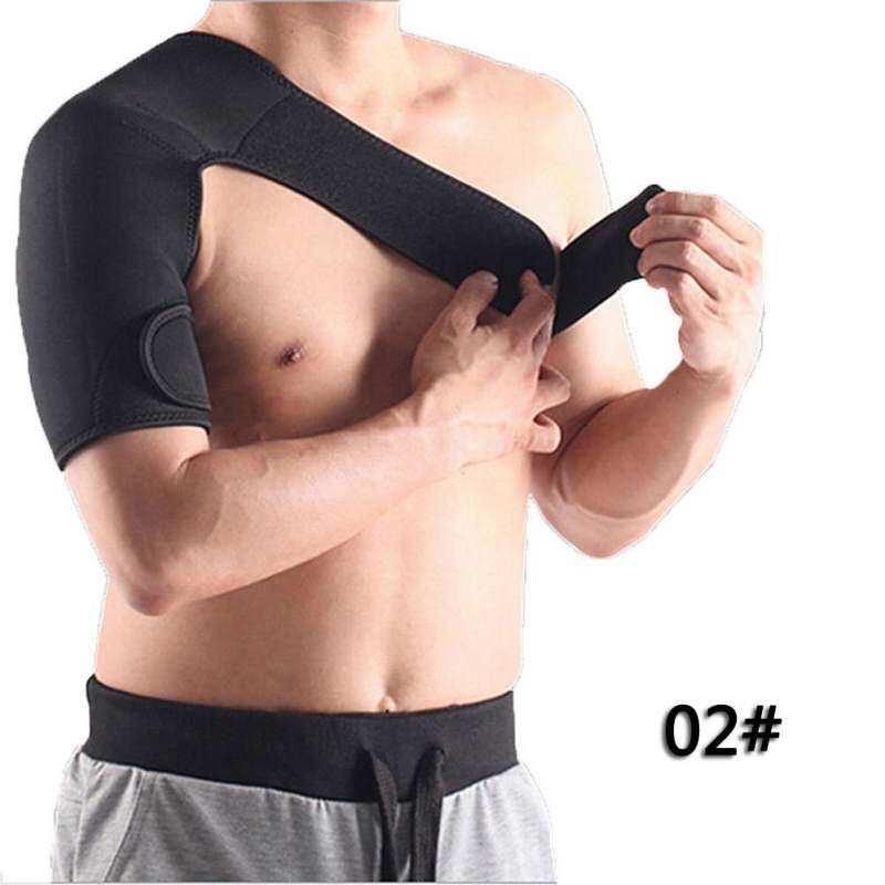 Ringan Bahu Disesuaikan Pelindung Lutut Dukungan Tali Sabuk (HITAM L)-IntlIDR169000. Rp