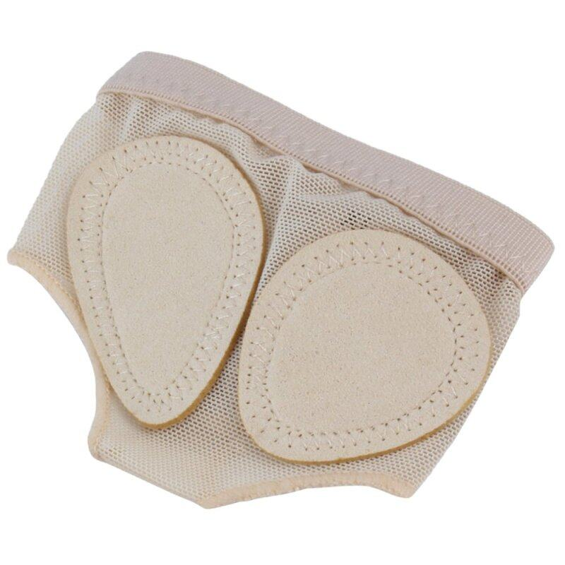 Allwin 1 Pair Ballet Dance Paws Cover Foot Forefoot Toe Cushion Pad Half Protection Beige nhập khẩu