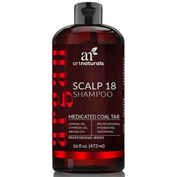 Buy Artnaturals Dandruff Shampoo Coal Tar With Argan Oil Scalp18 Therapeutic Treatment Helps Anti Itchy Scalp Clear Symptoms Of Psoriasis Eczema Natural And Organic Sulfate Free 16 Oz Intl South Korea