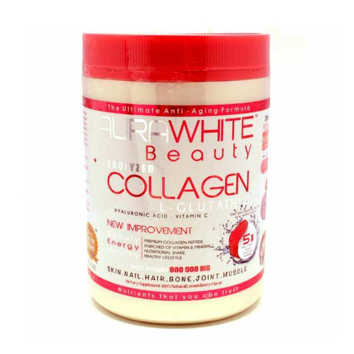 Aura White Plus Collagen Buy Sell Online Skin Nourishment