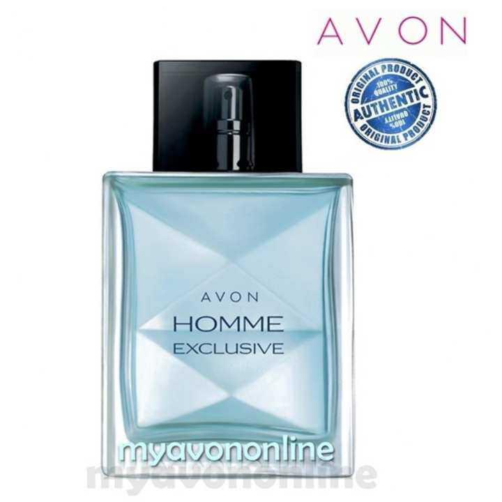 Authentic Avon Men Perfume - Homme Exclusive Eau de Toilette Spray 75ml