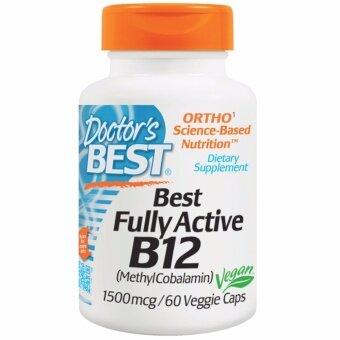 Doctor's Best Vitamin B-12, 1500mcg, 60 Veggie Caps