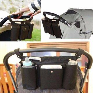 Xe Đẩy Em Bé Túi Xe Đẩy Giữ Cốc Xe Đẩy Em Tã Lót Bình Sữa Ổn Định Cho Xe Đẩy Organiz thumbnail