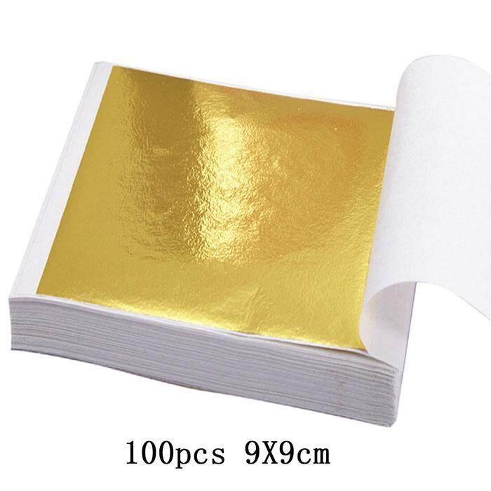 Người Bán tốt nhất ASTAR New Lá Vàng 24 K Thiết kế mỹ thuật Khung Mạ Vàng Nghệ Thuật TỰ LÀM Vật Liệu Trang Trí Giấy chính hãng