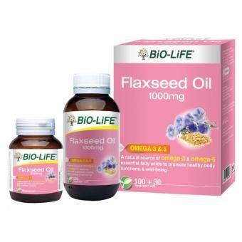 Bio-Life Flaxseed Oil 1000Mg 100C + 30C