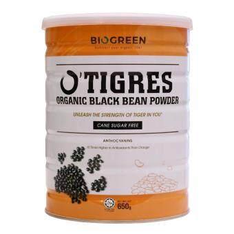 Biogreen O'Tigres Organic Sugar Free Black Bean Powder (650g)