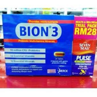 BION 3 24's FOC High Strength TRIOMEGA 30's (EXP 04/2019)