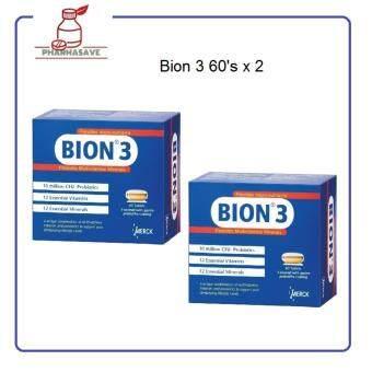 Bion 3 Probiotic Multivitamins Minerals 2 x 60's