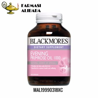 BLACKMORES Evening Primrose Oil EPO 1000mg 100s EXP:11/19