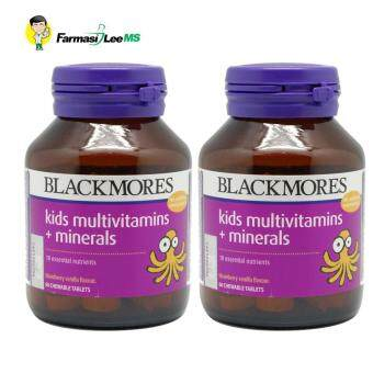 Blackmores Kids Multivitamins + Minerals 60s - 2 Bottles (Exp 01/2020)