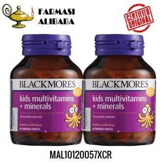 BLACKMORES Kids Multivitamins + Minerals 60sx2 EXP: 12/18