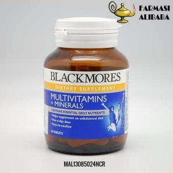 BLACKMORES Multivitamins + Minerals 30s EXP:2/19