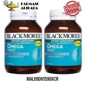 BLACKMORES Omega Memo 60sx2 EXP:10/19