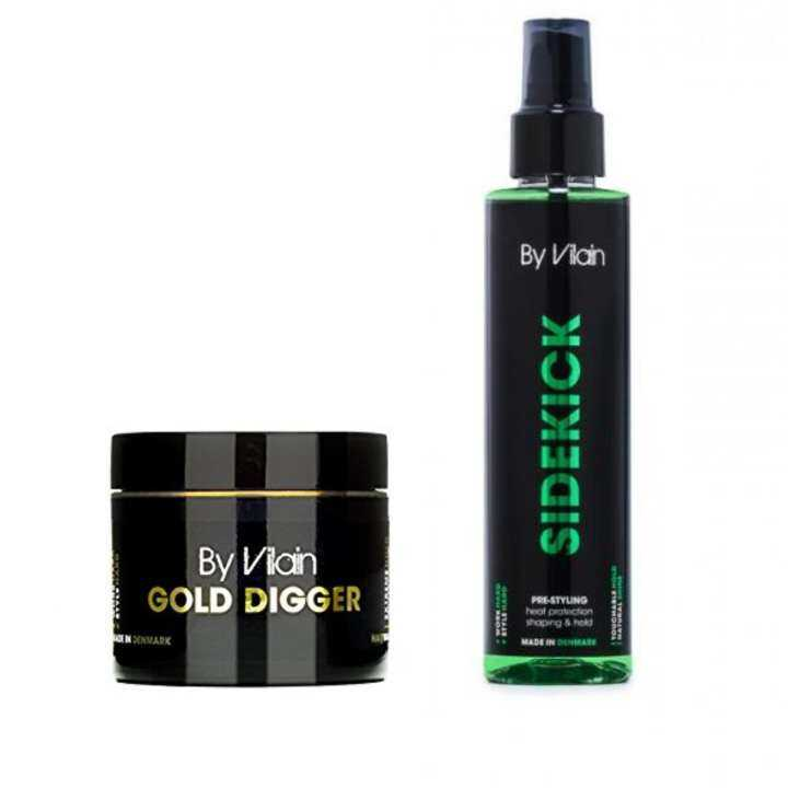 By Vilain Intermediate Kit (Gold Digger 65ml & Sidekick 155ml)