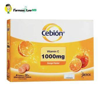 Cebion Vitamin C 1000mg Effervescent 4x10s (Exp 09/2019)