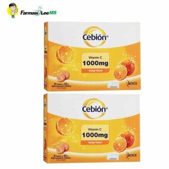 Cebion Vitamin C 1000mg effervescent 8x10s (Exp 09/2019)