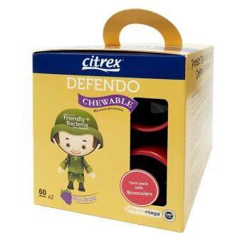 Citrex Defendo Chewable Grape 2 x 60's W/Free