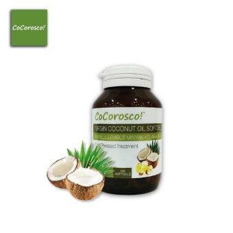 Cocorosco! Extra Virgin Coconut Oil Softgels (675mg X 120 softgels)