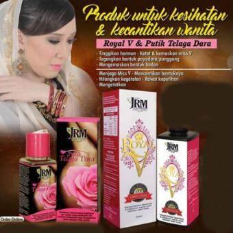 Combo Set Royal V + Putik Telaga Dara Jamu Ratu Malaya