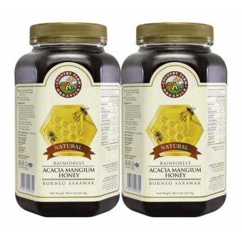 Country Farm Organic Twinpack Rainforest Acacia Honey 1kgx2