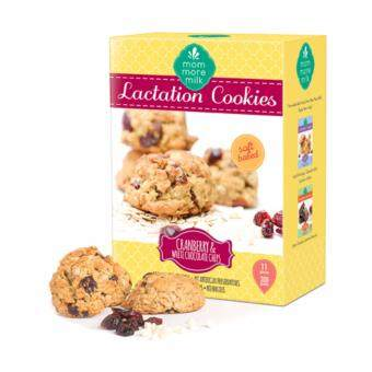 Cranberry & White Chocolate Chips Lactation Cookies