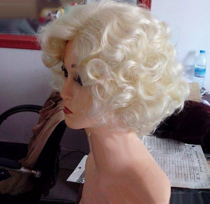 Curly Marilyn Monroe Full Hair Wigs (Color As The Picture)