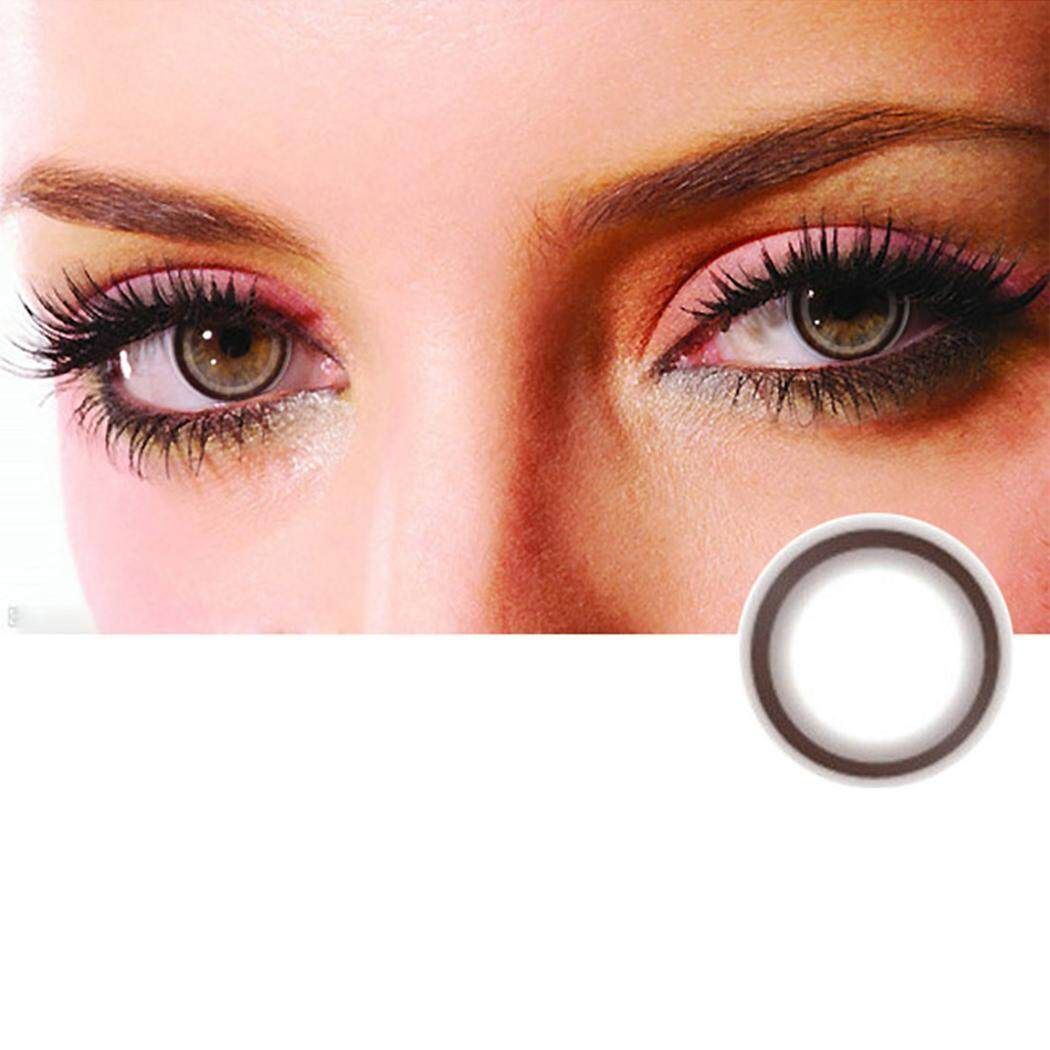 Cyber Sales Large Diameter Eyes Color Contacts Lens Cosplay Beautiful Eyes Makeup Cosmetic - intl Philippines