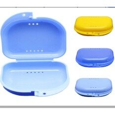 Mecola Dental Orthodontic Retainer Denture Storage Case Box Mouthguard Container By Mecola.
