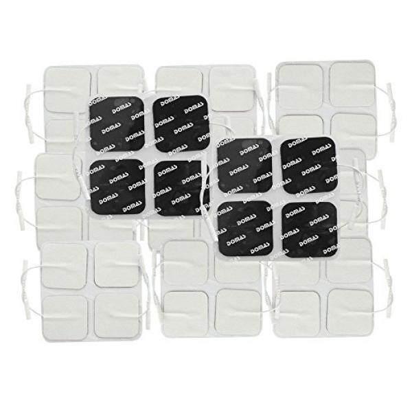 Domas Square Dapat Digunakan Kembali Kabel Unit Elektroda Bantalan 2X2 Inci Pack 40-Intl