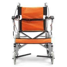 Hình ảnh Drive Lightweight Steel Foldable Back Medical Wheelchair w/ Footrest Portable