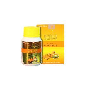 Dunia Herbs Kapsul Pati Halia Nightriem 400mg