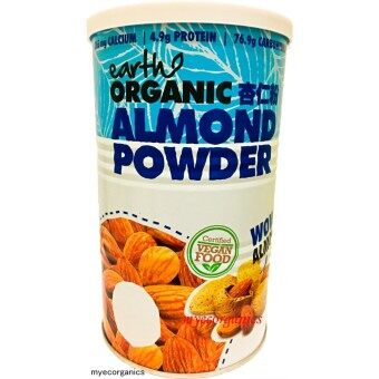 Earth Living The Mighty 8 Organic Superfood - Almond Powder (500gm)