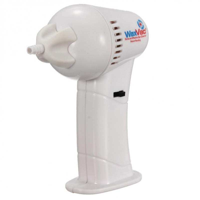 Electric Vac Vacuum Cordless Ear Cleaner Wax Remover