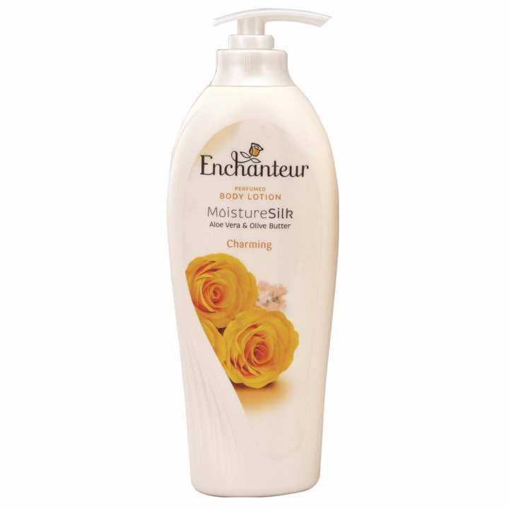 Enchanteur Hand and Body Lotion - Moisture Silk Charming (600ml)