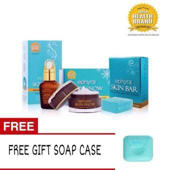 Ephyra Skincare Series 3 in 1 (FREE GIFT Soap Case)