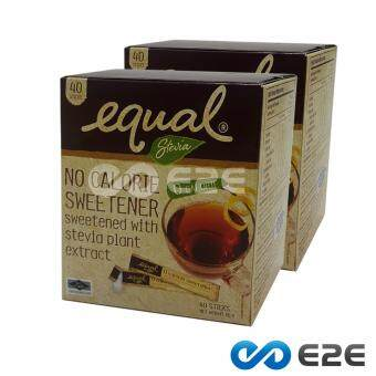 Equal Stevia (40 Sticks) x 2 Boxes