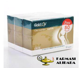 Gold Life Jointril (Glucosamine sulphate) 3x50s EXP:11/19