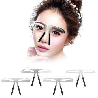 Eyebrow Ruler Eyebrow Measure Balance Extension Ruler Eyebrow Shape Stencil European Style - intl