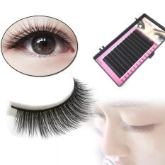 Fashion Individual Silk Volume Lashes Eyelash Extensions 0.15mm C Curl