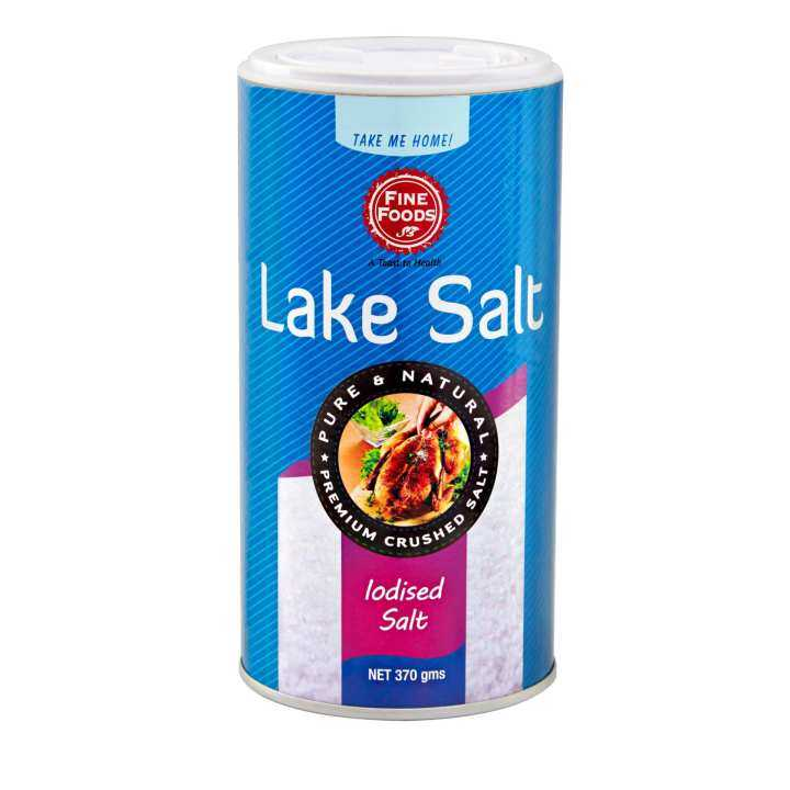 Fine Foods Lake Salt Canister (370g)