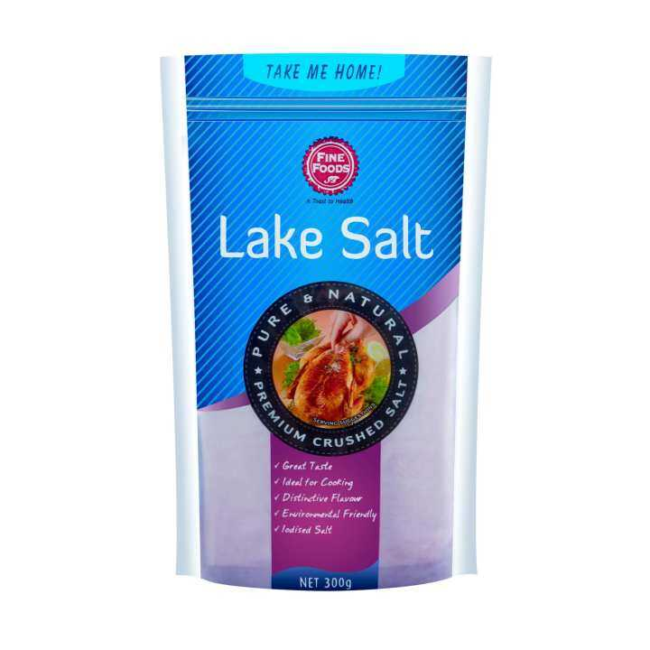 Fine Foods Lake Salt pouch (300g)