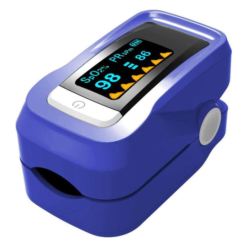 Fingertip Finger Blood Oximeter Oxygen SPO2 Pulse Heart Rate Monitor Oximeter bán chạy
